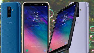 Mid Range Edge Samsung Galaxy A6 and A6 Plus